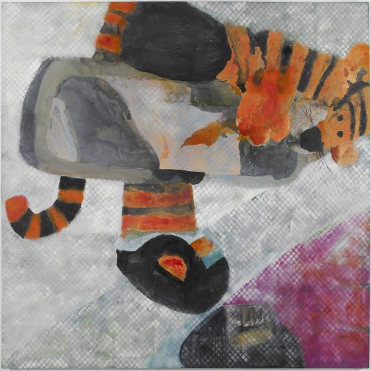 DT-tiger in the tank