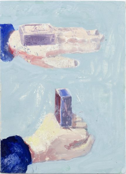 Here and There collection_12_ 2016_ 29.7 x 21.5 cm oil on canvas on mdf