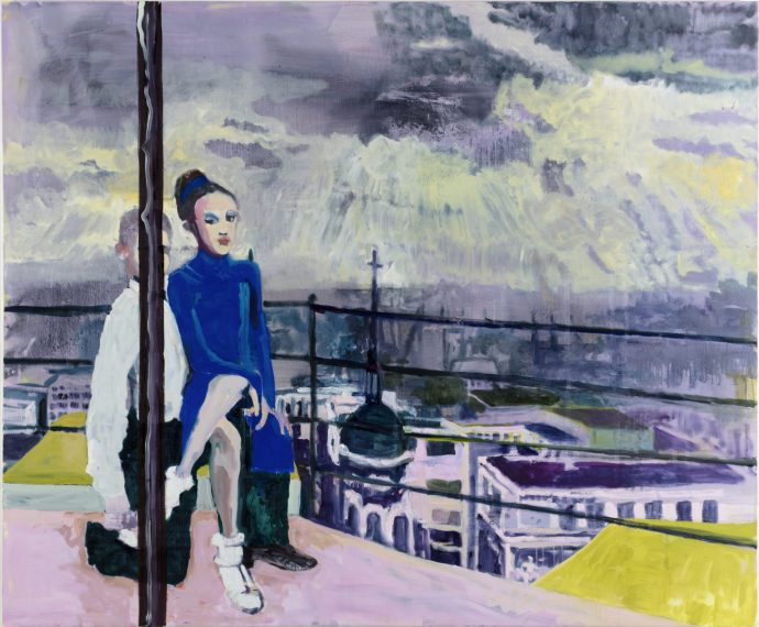 Lightning rod_ Mr and Mrs Andrews_2016_190cm x 240