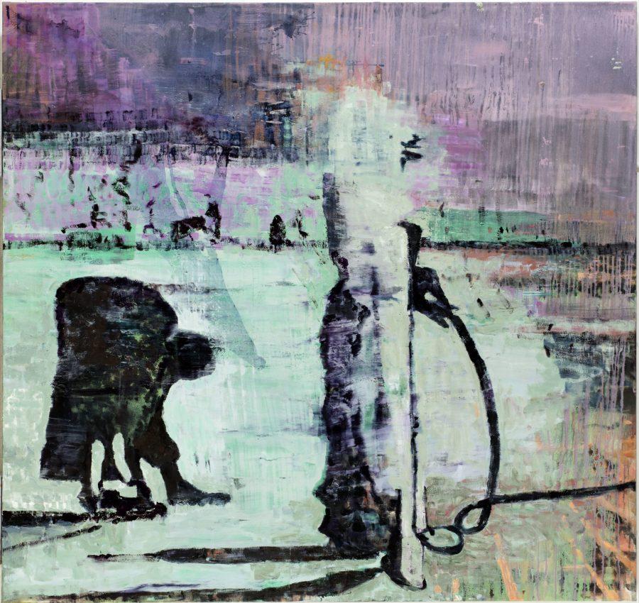 Prospectors 2015 170 x180 cm oil on canvas