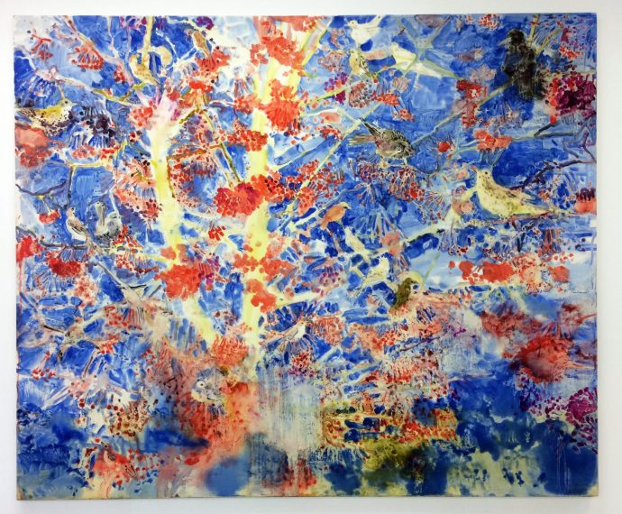 thicket_oil-on-poplar-panel-stetched-with-canvas_190x230cm-2020